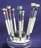 Watch Maker's Screw Driver - Set of 9