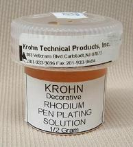 Rhodium Solution Concentrate 1/2 gram