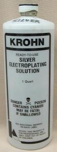 Silver Electroplating Solution