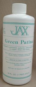 JAX® Green Patina